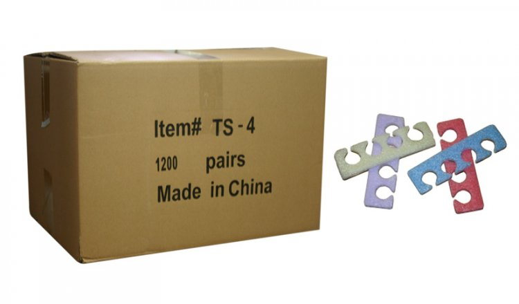 Toe Separators (Soft) TS-4 - 1200 Pairs / Box