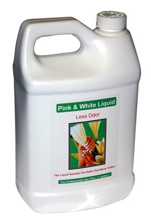 Pink & White - No MMA Liquid 1 Gal ( Medium  Dry )