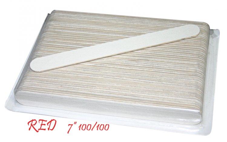 Manicure File White 100/100 - (50 pcs)