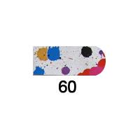 Nail Patch Foil Design - #60 - 16 pcs