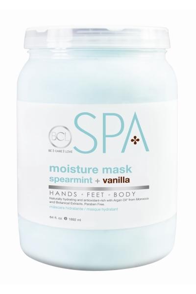 BCL SPA - Spearmint + Vanilla - Moisture Mask - 64 oz