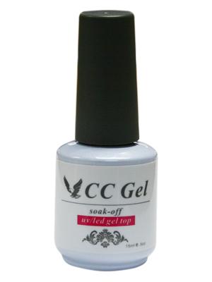CC Gel Polish Top Coat - 0.5 oz
