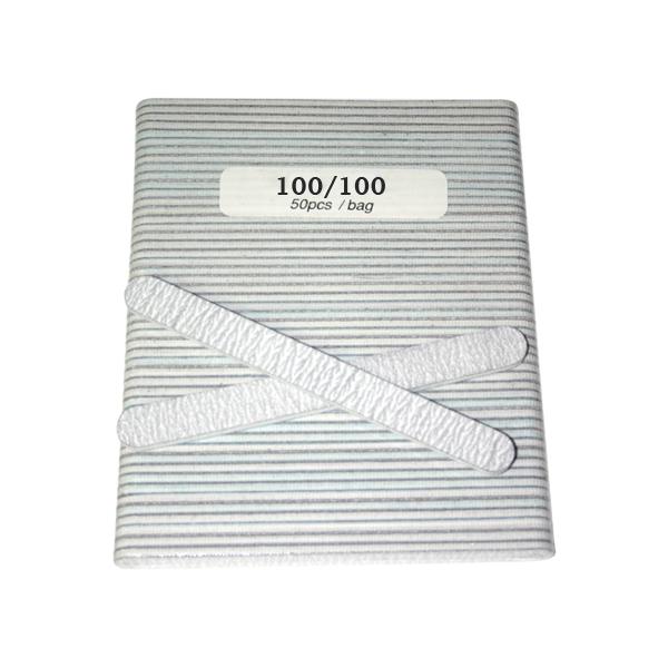 Nail File - Zebra 100/100 - 50 pcs