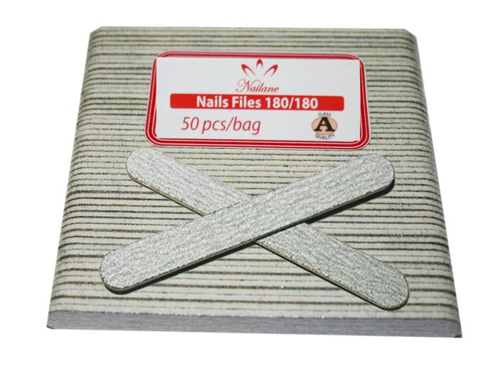 Manicure File Thin Small Zebra (80/100)  1Case/100 Bags