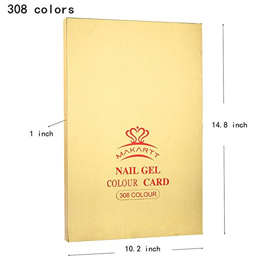Gel Color Book - 308 Colors