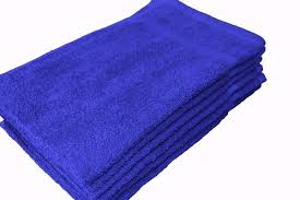 Towel - BEAUTY PREMIUM ROYAL BLUE - 1 Dozen/12 pcs