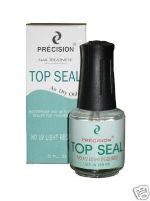 Precision Nail Treatment Top Seal Air Dry Only 0.5 oz